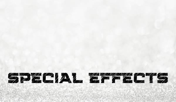 7. Kapitel – Special Effects