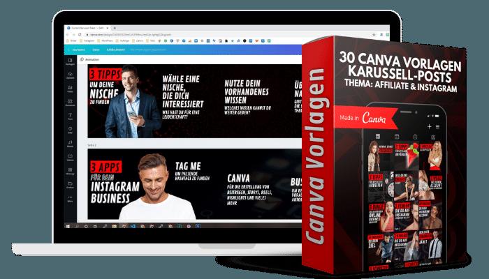 Mockup Canva Content-Paket