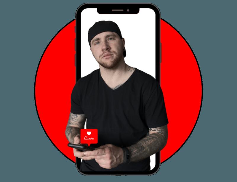 Umgang mit der Canva App