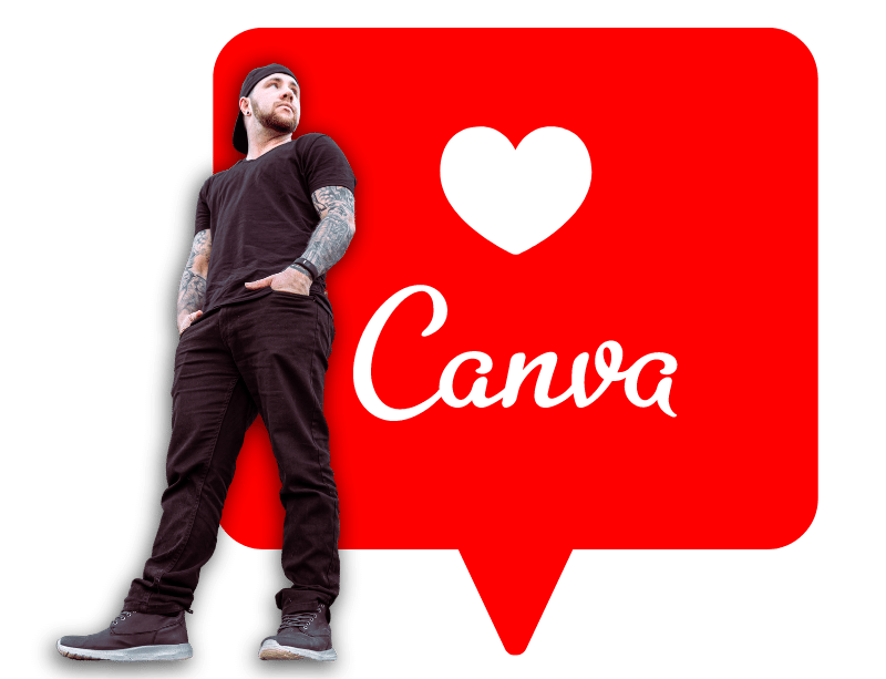 I love Canva