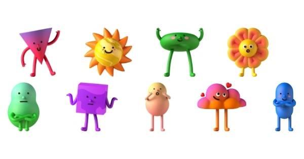 Canva Suchbegriffe 3D Elemente - 3d vibrant characters